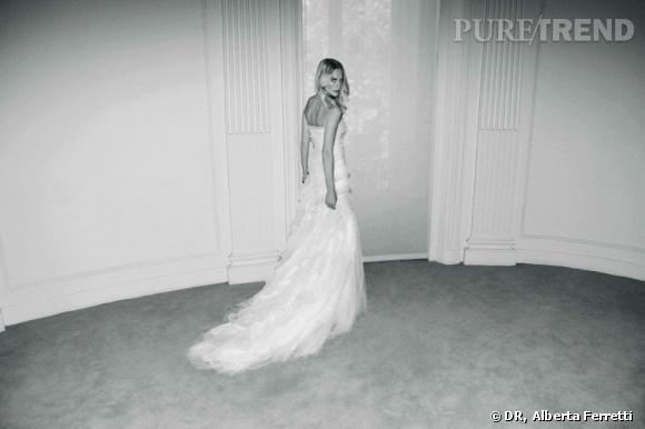 Collection de robes de mariée Forever d'Alberta Ferretti.   Ava