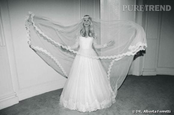 Collection de robes de mariée Forever d'Alberta Ferretti. Scarlett