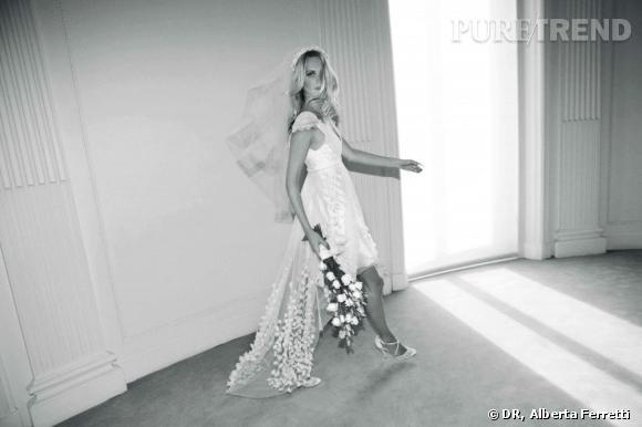 Collection de robes de mariée Forever d'Alberta Ferretti.   Mia