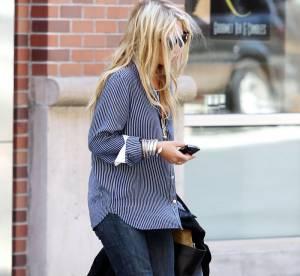 Mary-Kate Olsen, en mode unisexe