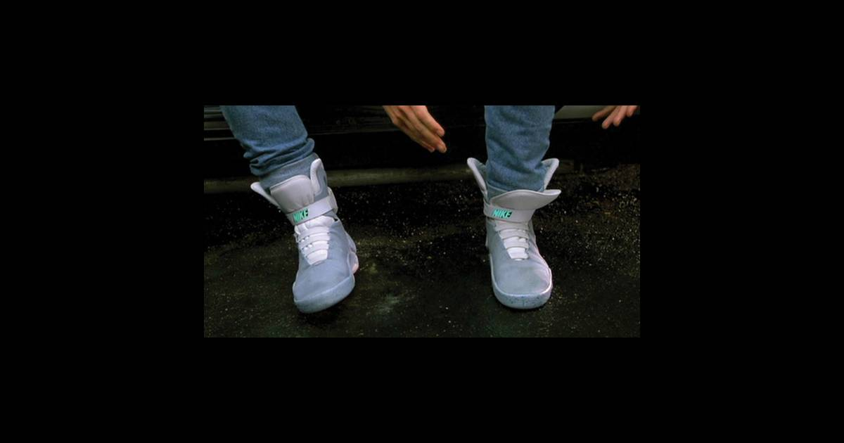 nike air mag retour vers le futur ii de robert zemeckis 1989 le prototype que tous les. Black Bedroom Furniture Sets. Home Design Ideas
