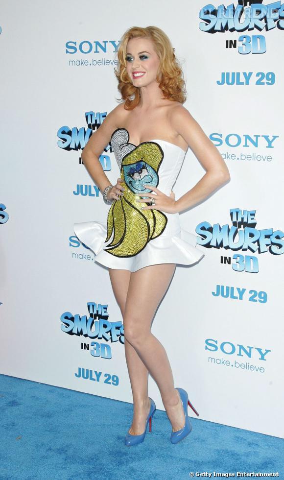 Katy Perry, nouvelle blonde... Que l'on préfère tout de même en brune.