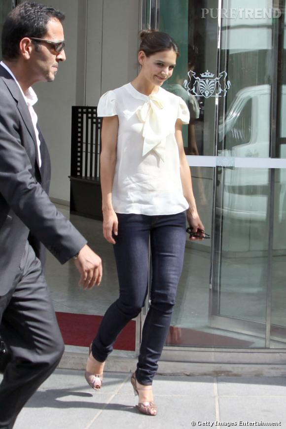 Katie Holmes, une apparition enchanteresse.