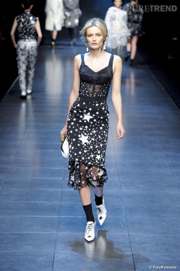 Défilé Dolce & Gabbana automne-hiver 2011/2012.