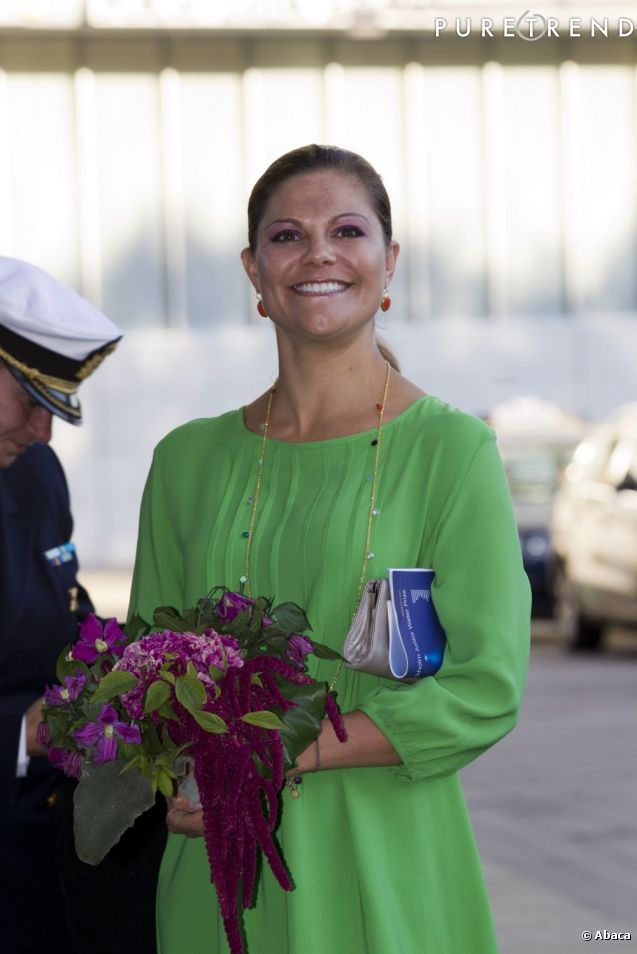La Princesse Victoria de Suède, une future maman radieuse