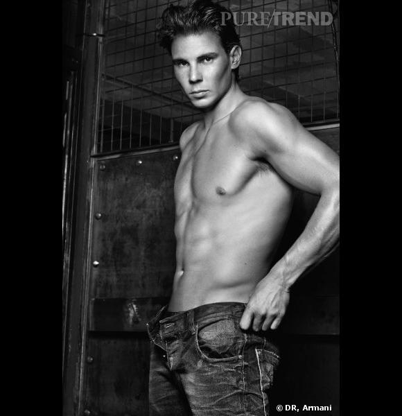 Rafael Nadal pour la campagne Automne-Hiver 2011/2012 Emporio Armani Underwear.