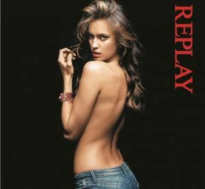La campagne sexy du week-end : Irina Shayk pour Replay