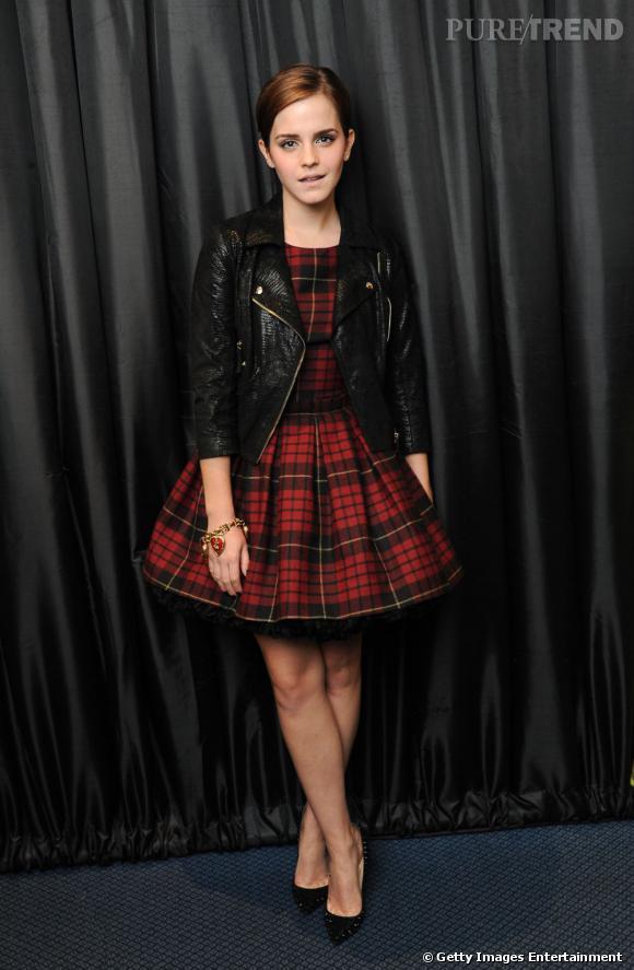 Emma Watson a illuminé la soirée par sa présence.