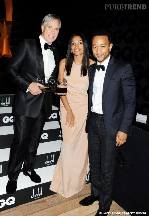 Tommy Hilfiger (styliste de l'année), Rosario Dawson et John Legend