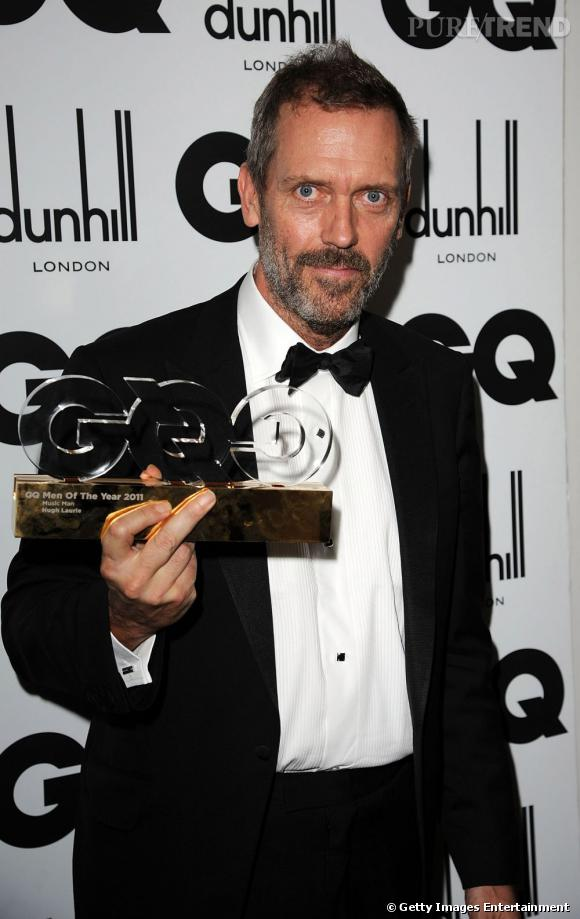 "Hugh Laurie a gagné le prix ""Music Man of The Year""."