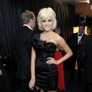 Pixie Lott, fidèle aux looks british pointus.