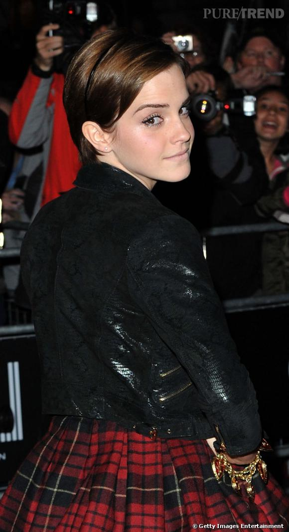 Emma Watson à la soirée GQ Men of The Year.