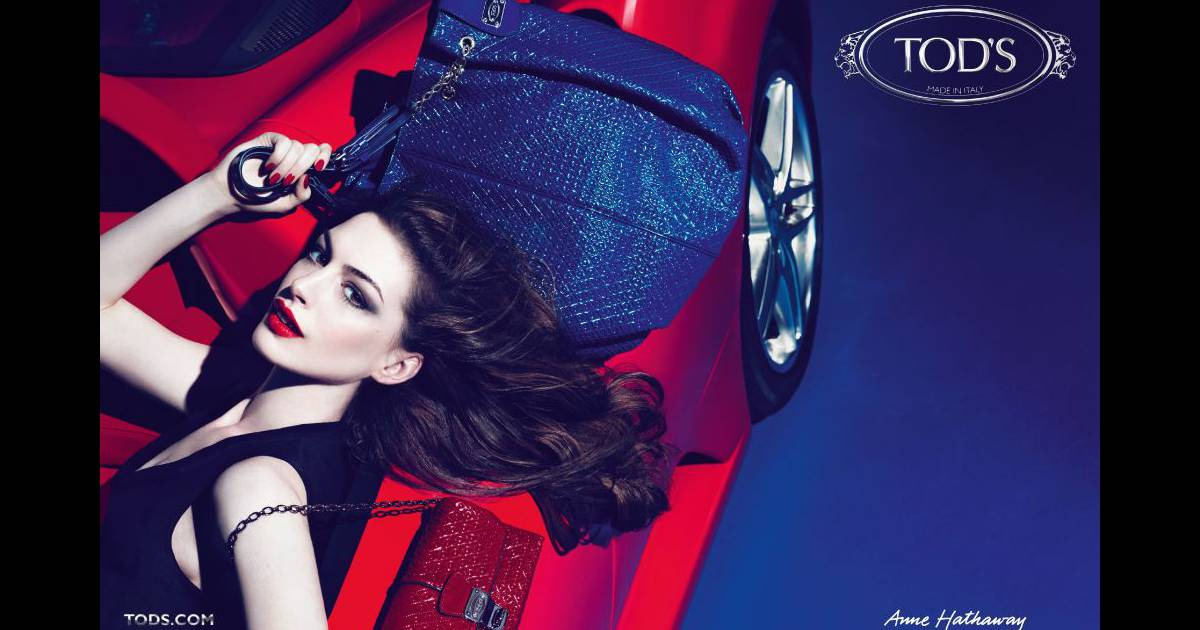 Anne Hathaway signe pour Tod's