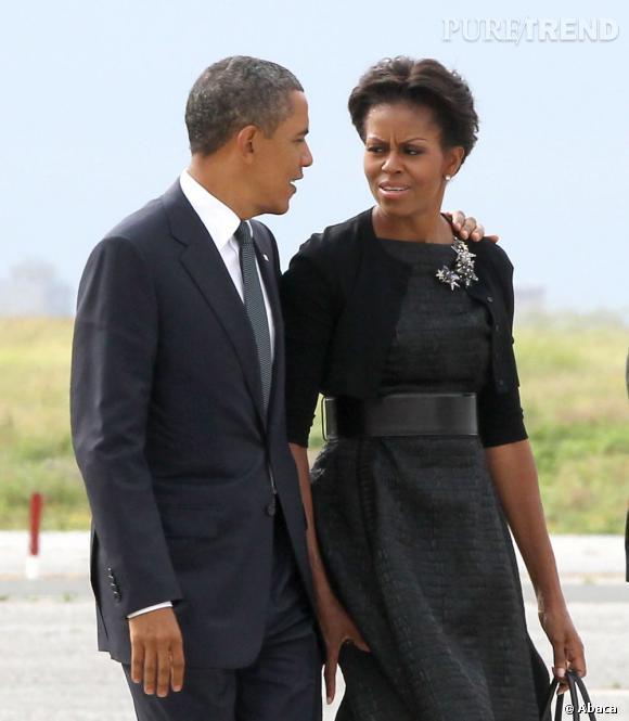Michelle Obama à la journée commémorative du 11 septembre 2001.