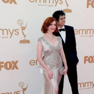 Christina Hendricks et Geoffrey Arend.