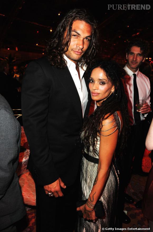 Jason Momoa et Lisa Bonet.