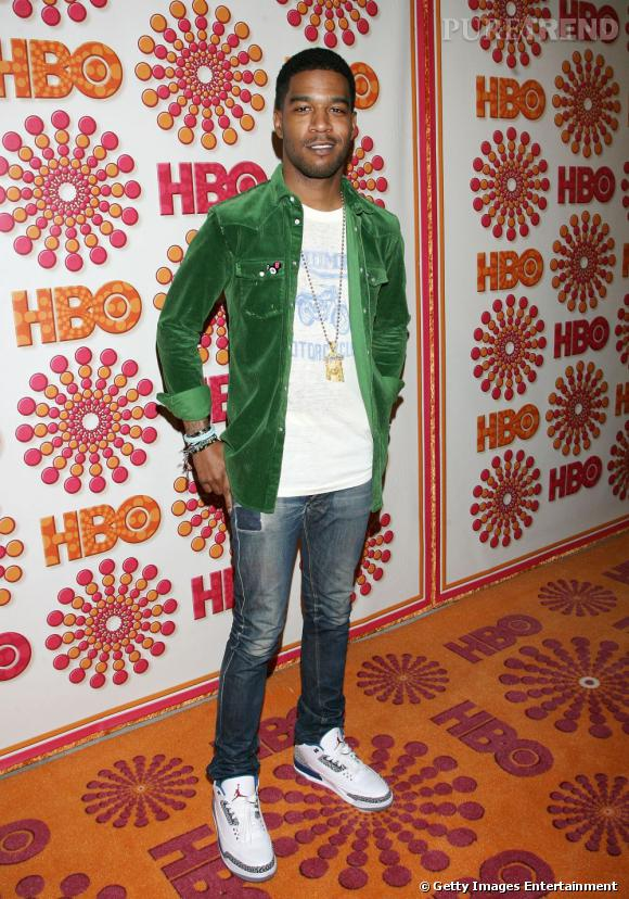Kid CuDi a sorti sa plus belle veste en velours.