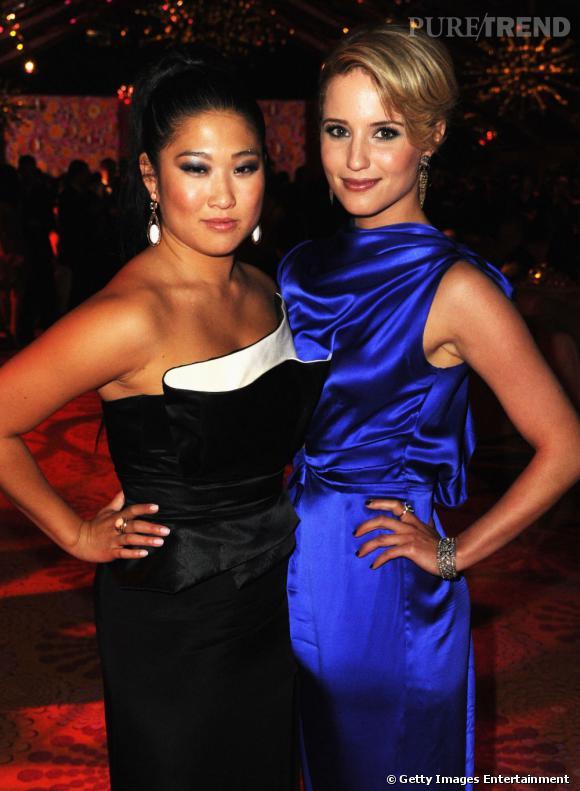 """Les """"Glee"""" girls."""