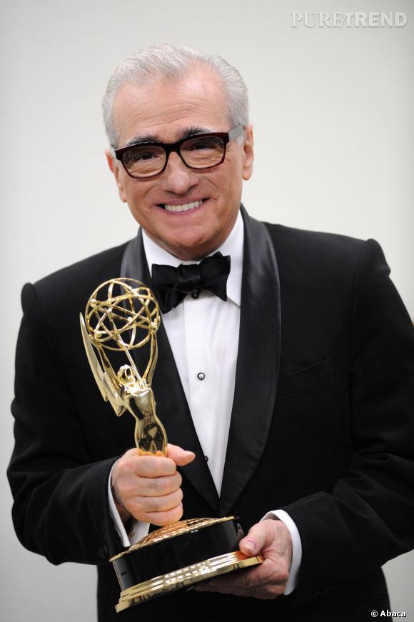 Martin Scorsese et son Emmy.
