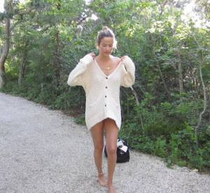 Carolyn Murphy, souvenir de vacances pour Rag & Bone