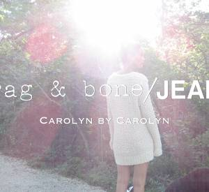 Carolyn Murphy a pris elle-même les photos de la campagne Rag & Bone/Jeans DIY.