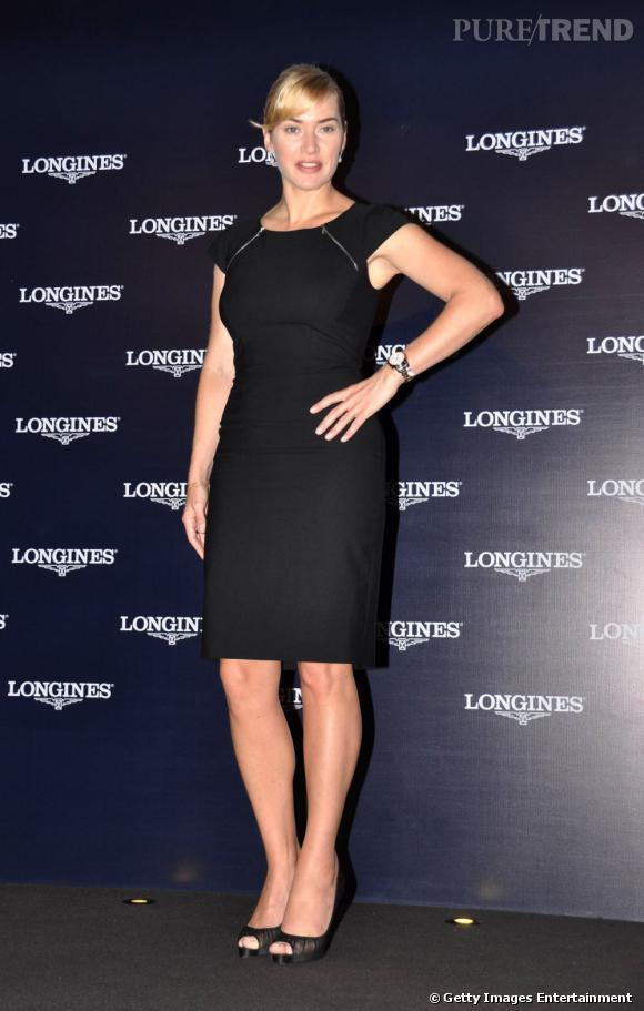 Kate Winslet célèbre Longines à Shanghai.