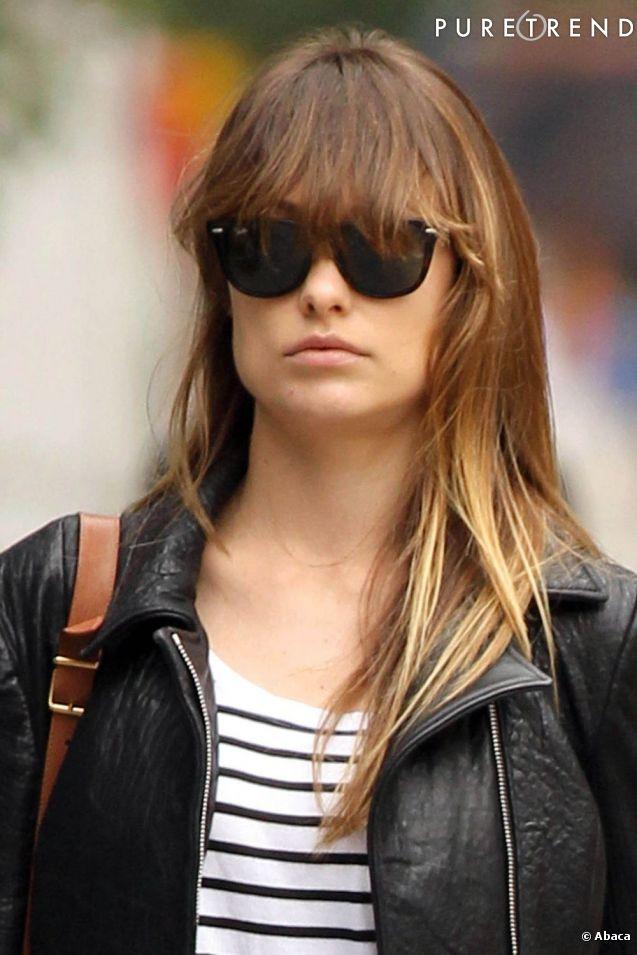 coiffure frange lunettes