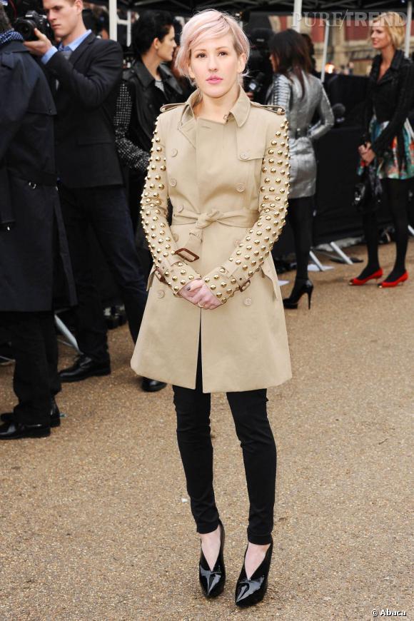 """Petite Britannique de 25 ans, Ellie Goulding cumule un joli sens du style à un début de carrière très prometteur. Découverte notamment avec son single """"Starry Eyed"""", elle s'offre le luxe d'avoir interprété la chanson de la première danse du mariage de Kate et William. Toujours en 2011, elle remporte le prix """"Pandora Breakthrough of the Year"""" lors des Glamour Awards."""