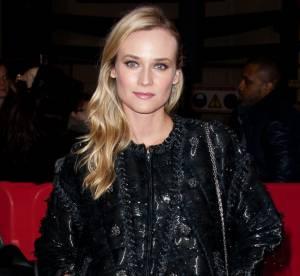 Le look du jour : Diane Kruger, l'hivernal glamour