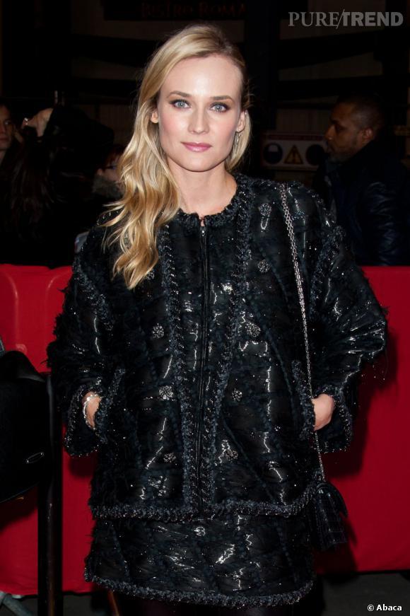 """Diane Kruger à l'avant-première de """"Forces Spéciales"""" au Gaumont Capucines à Paris."""
