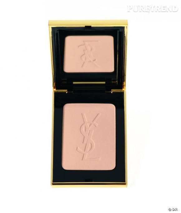 Shopping : les meilleurs fonds de teint     Poudre Compacte Radiance, Yves Saint Laurent, 41 euros