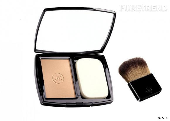 Shopping : les meilleurs fonds de teint     Vitalumière Eclat Compact, Chanel, 56 euros