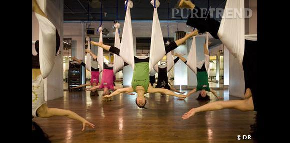 Le yoga suspendu débarque en France