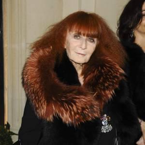 Sonia Rykiel, célèbre couturière française, aujourd'hui âgée de 81 ans.