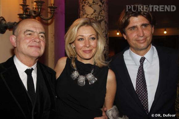 Christain Lacroix, Nadja Swarovski et Philippe d'Ornano