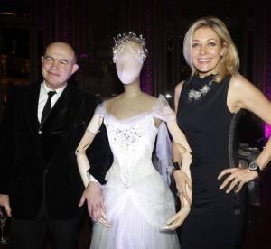 Christian Lacroix et Nadja Swarovski s'invitent a l'Opéra Garnier