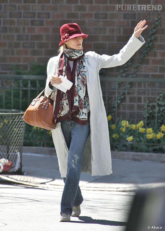 Heidi Klum, légèrement démodée fait même vieillotte.       Verdict  : désolée mais non, on trace.