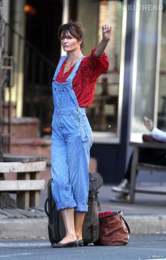 Helena Christensen, super cool !    Verdict  : on adore ! Le surplus pour les valises ? C'est offert.