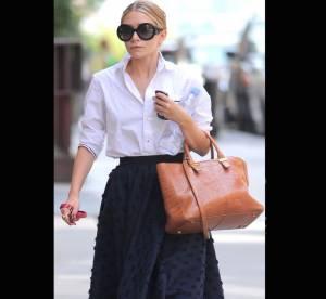 Ashley Olsen vs Mary-Kate Olsen : le sac The Row camel