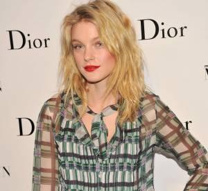 Jessica Stam à la soirée Dior pour l'exposition Marilyn Monroe à New York.
