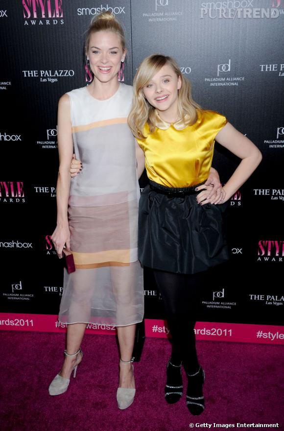 Jaime King et Chloë Moretz, un duo pétillant aux Hollywood Style Awards.
