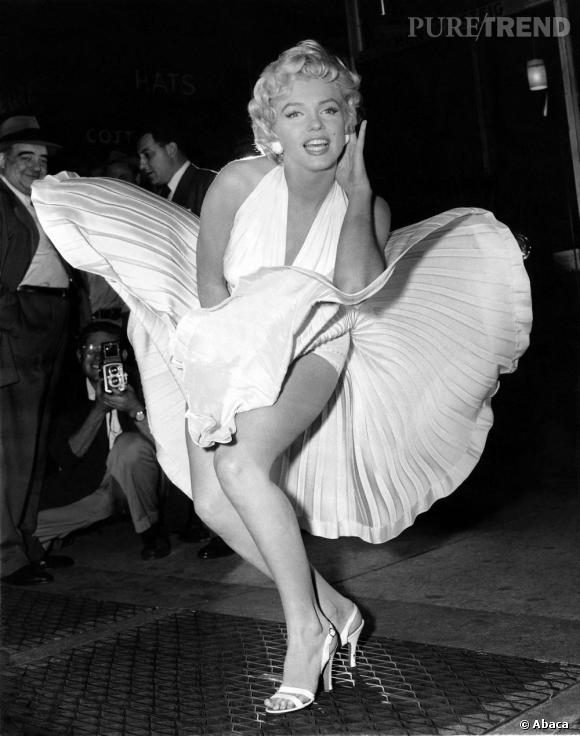"""Marilyn Monroe, dans """"7 ans de Réflexion""""."""