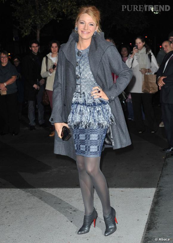 Le gris est la couleur du chic devant le MoMA.