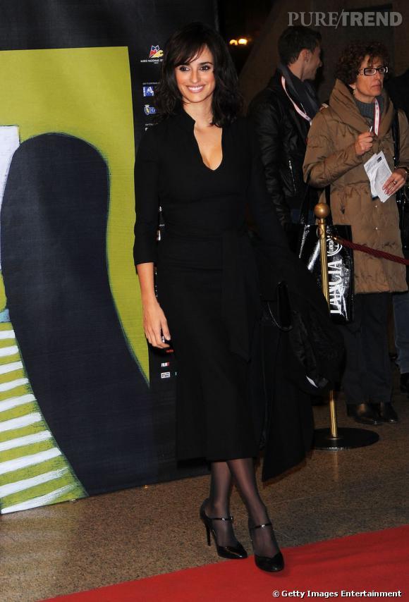 Penelope Cruz au 29ème Festival du film de Turin.