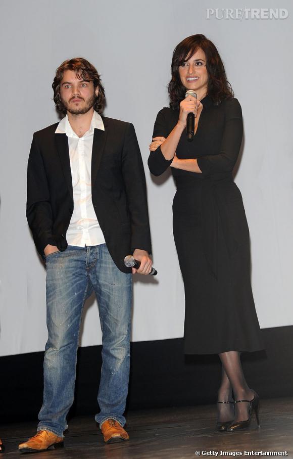 Penelope Cruz au côté du beau Emile Hirsch, fidèle à lui-même.