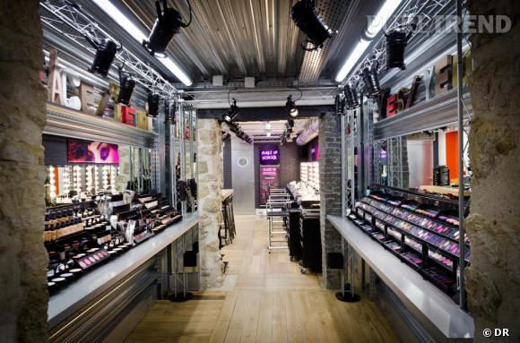Boutique make Up For Ever, 5 Rue des Francs-Bourgeois, 4e.