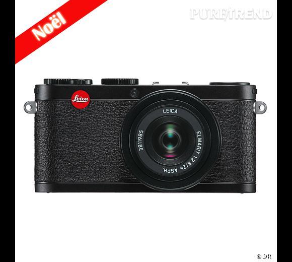 La Wish List Noël de la rédaction !  Appareil photo compact numérique X1 Leica, 1549 €.
