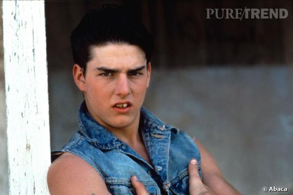 """Le flop """"vintage"""" : dents à la Jacquouille et air revêche, Tom Cruise n'a rien du tombeur."""