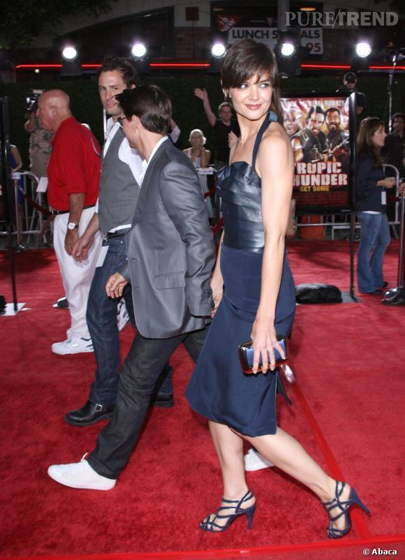 """Le flop """"assorti à Katie Holmes"""" :  looks ton sur ton, rien de plus has-been sur red carpet."""