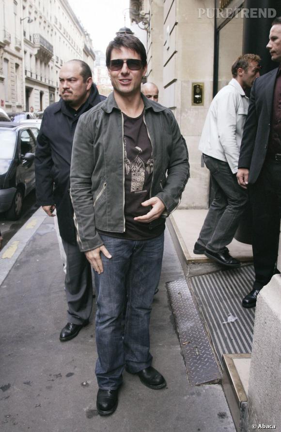 """Le flop """"look de rue"""" :  informe, ce look donne une allure """"courte sur pattes"""" à l'acteur."""